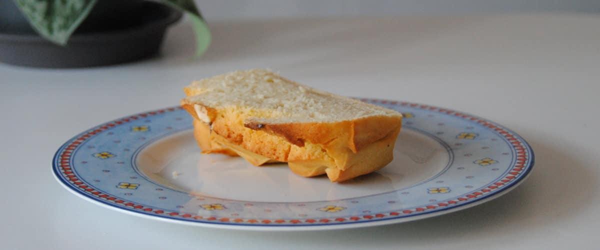 Bizcocho de limón con harina de arroz