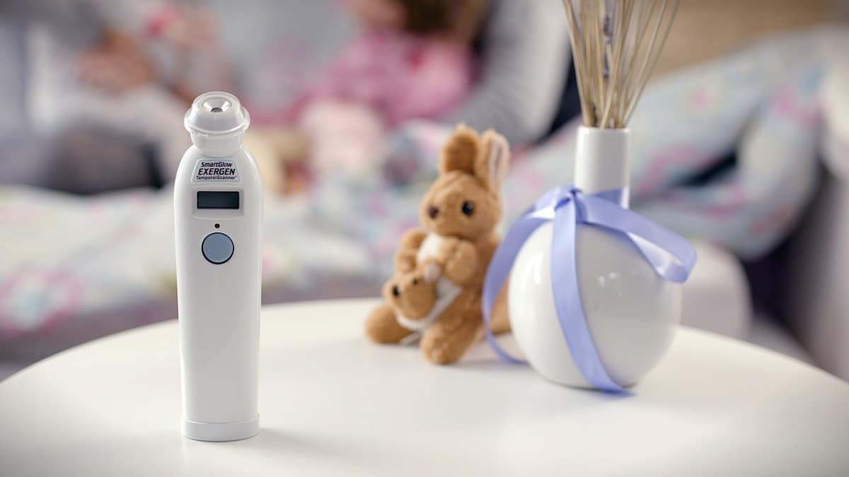 El mejor termómetro para bebés