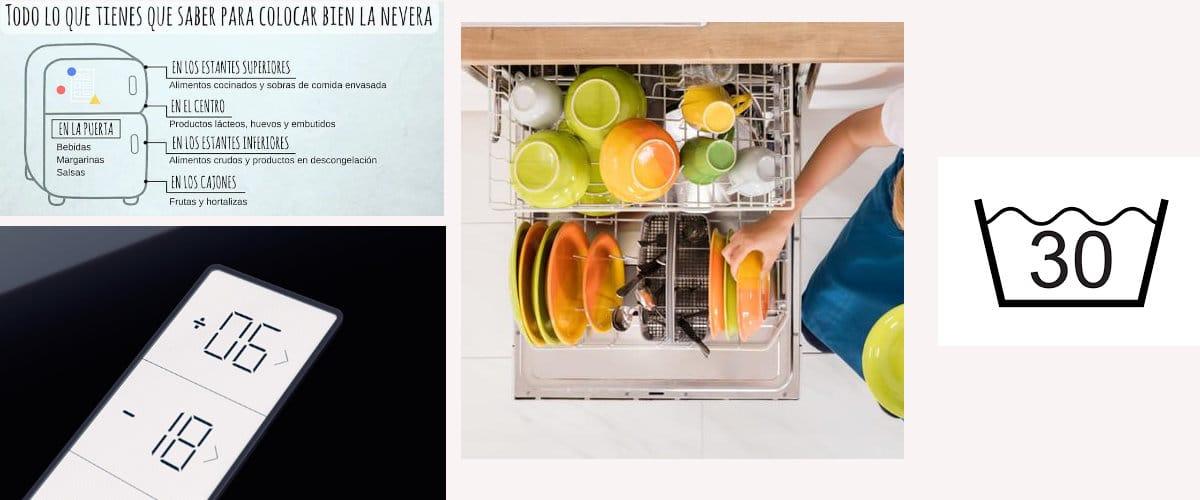 Uso de electrodomésticos para una cocina mas eficiente