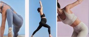 Colección de yoga de Oysho