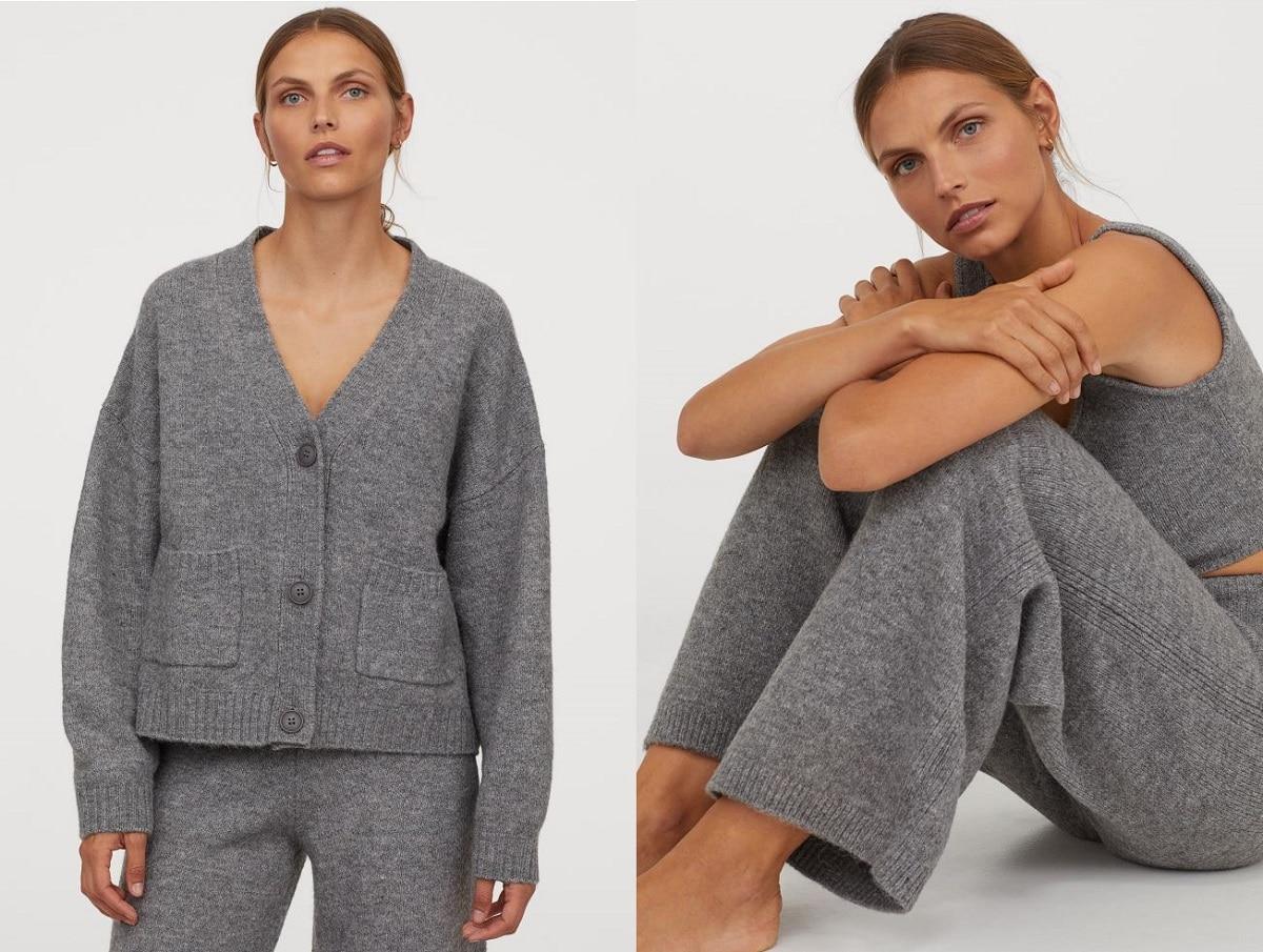 pantalón chaqueta lana