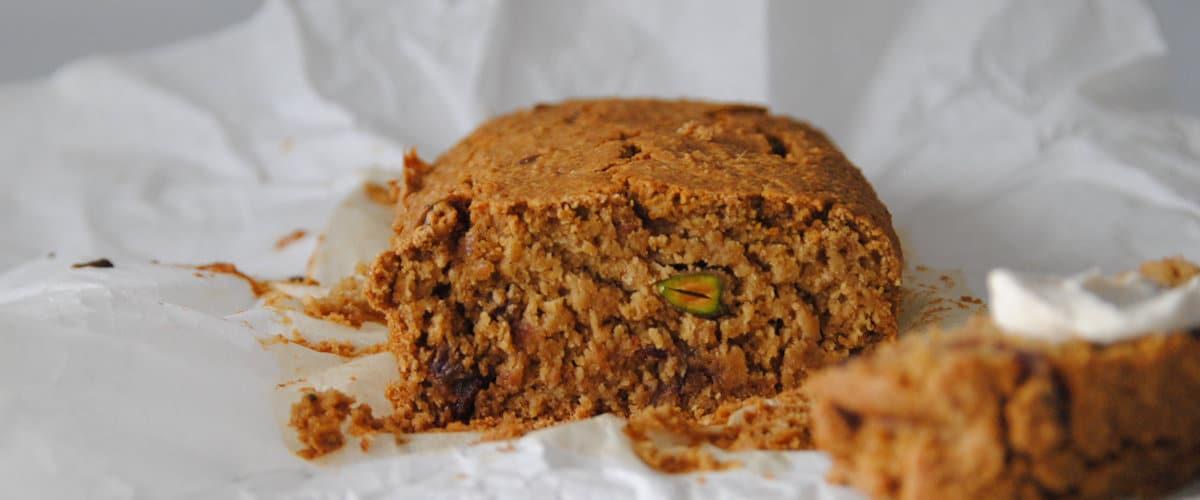 Plum cake de canela