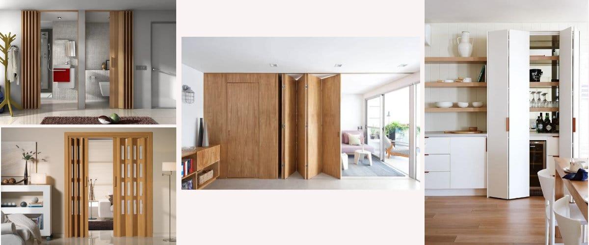 Puertas de pvc y madera