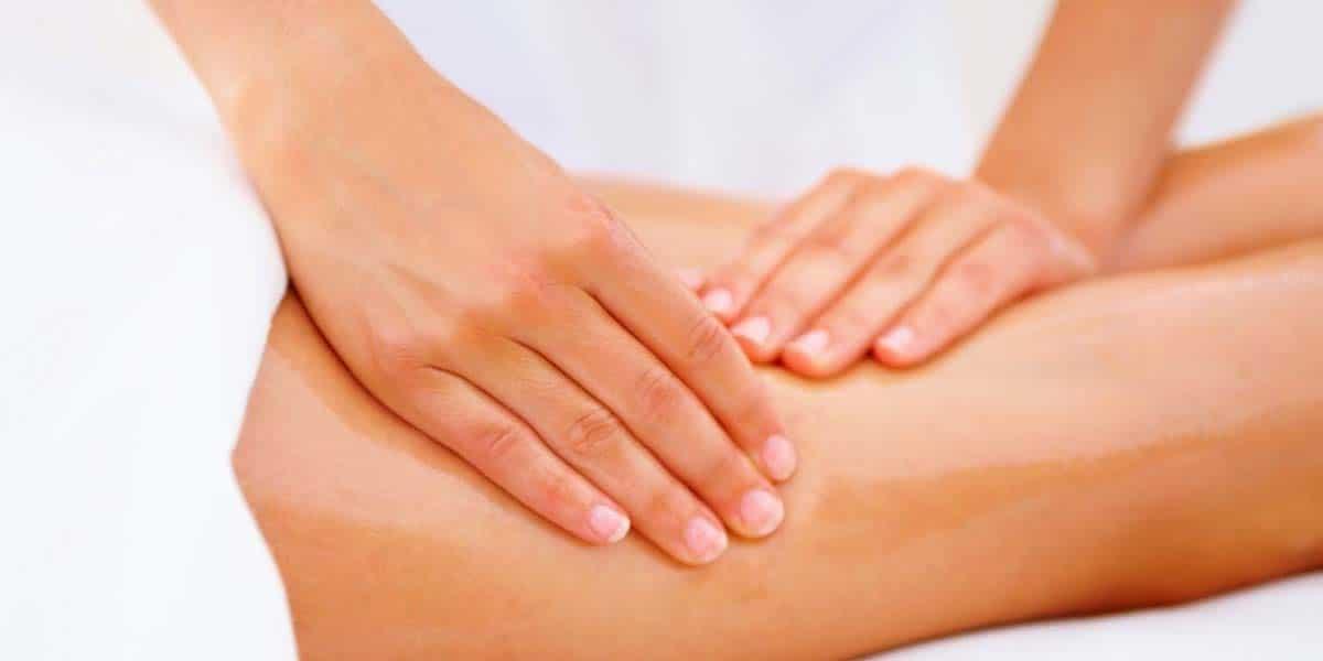 Masajes en las piernas