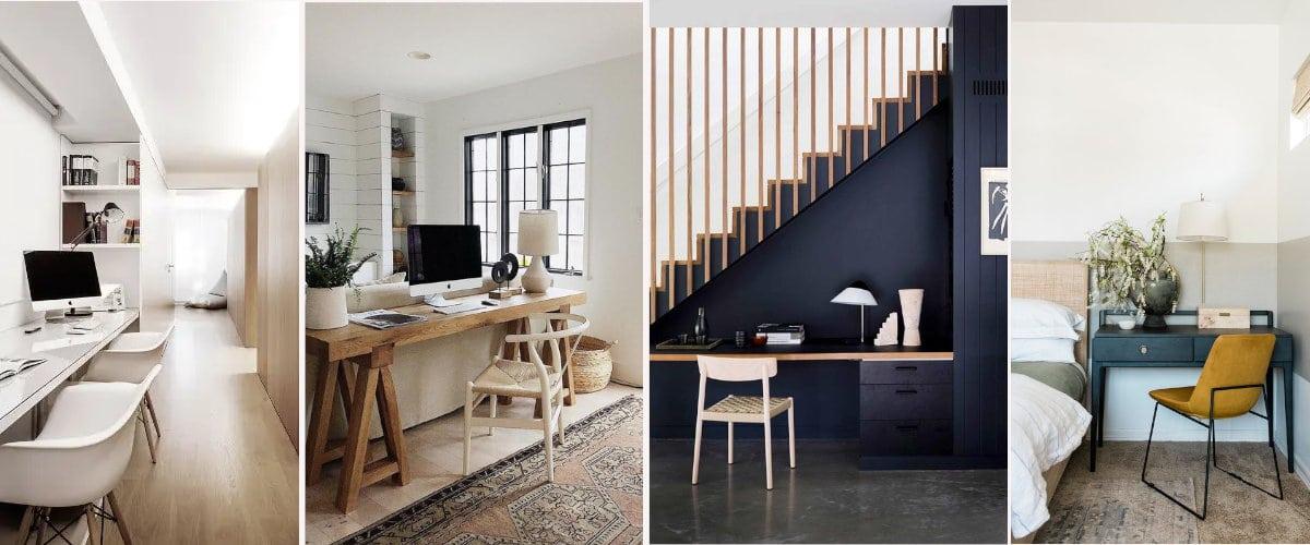 4 sitios para poner un pequeño escritorio
