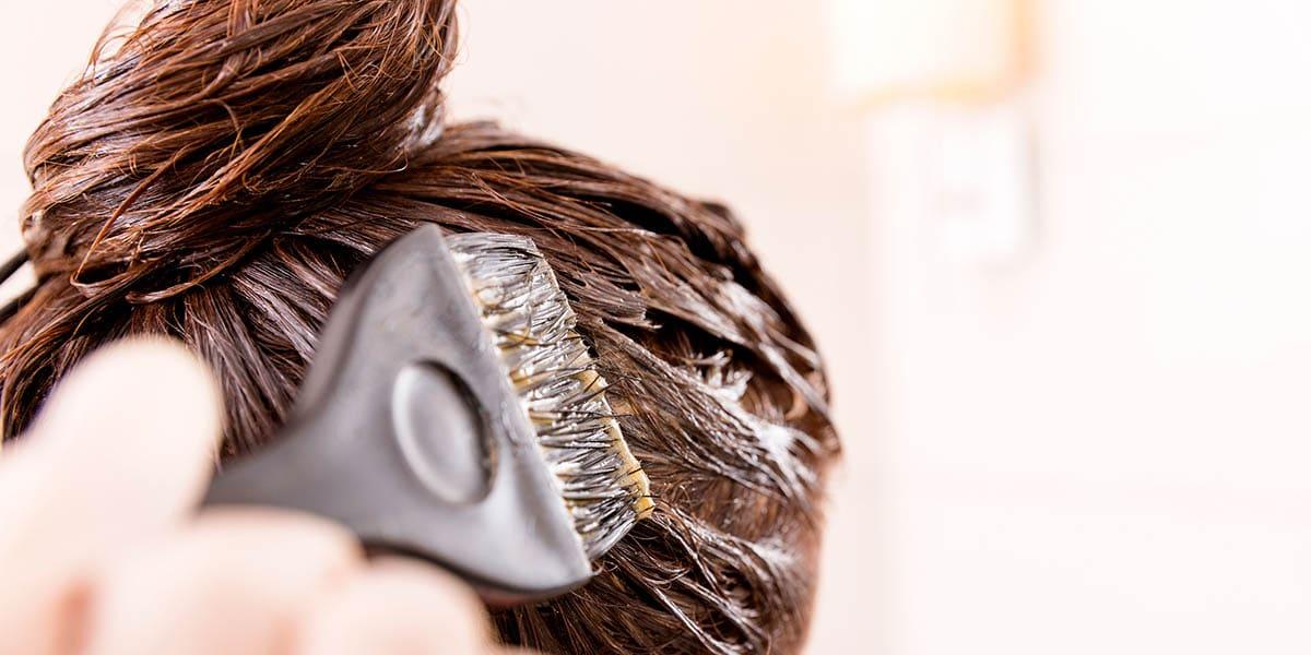 Teñir el pelo en casa