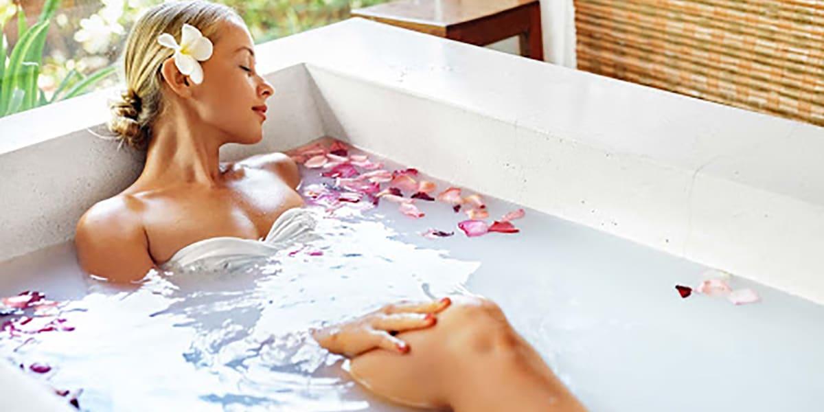 Baño con masaje