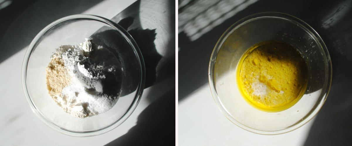 Bizcocho vegano de aceite de oliva y limón