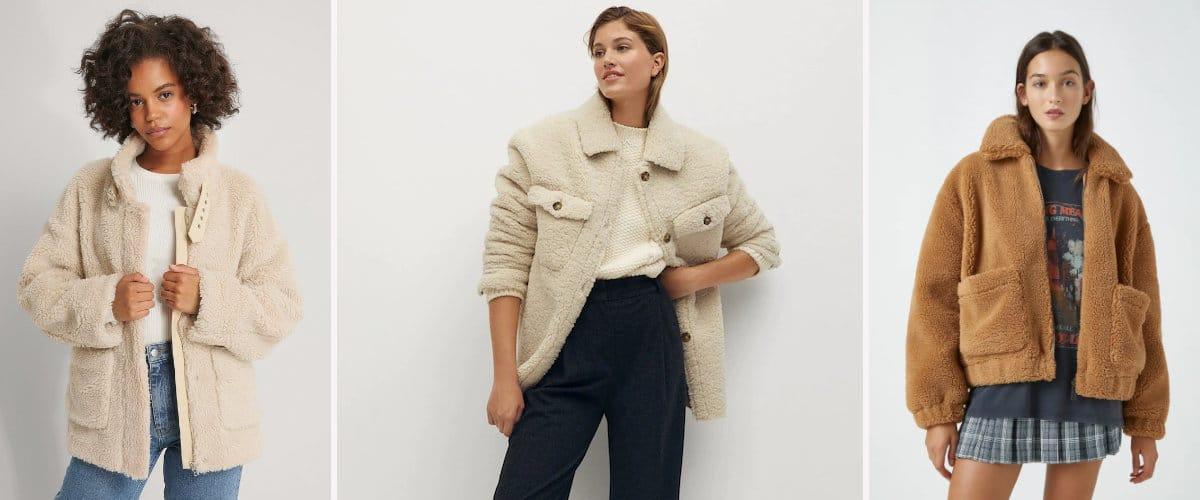 chaquetas de borreguito