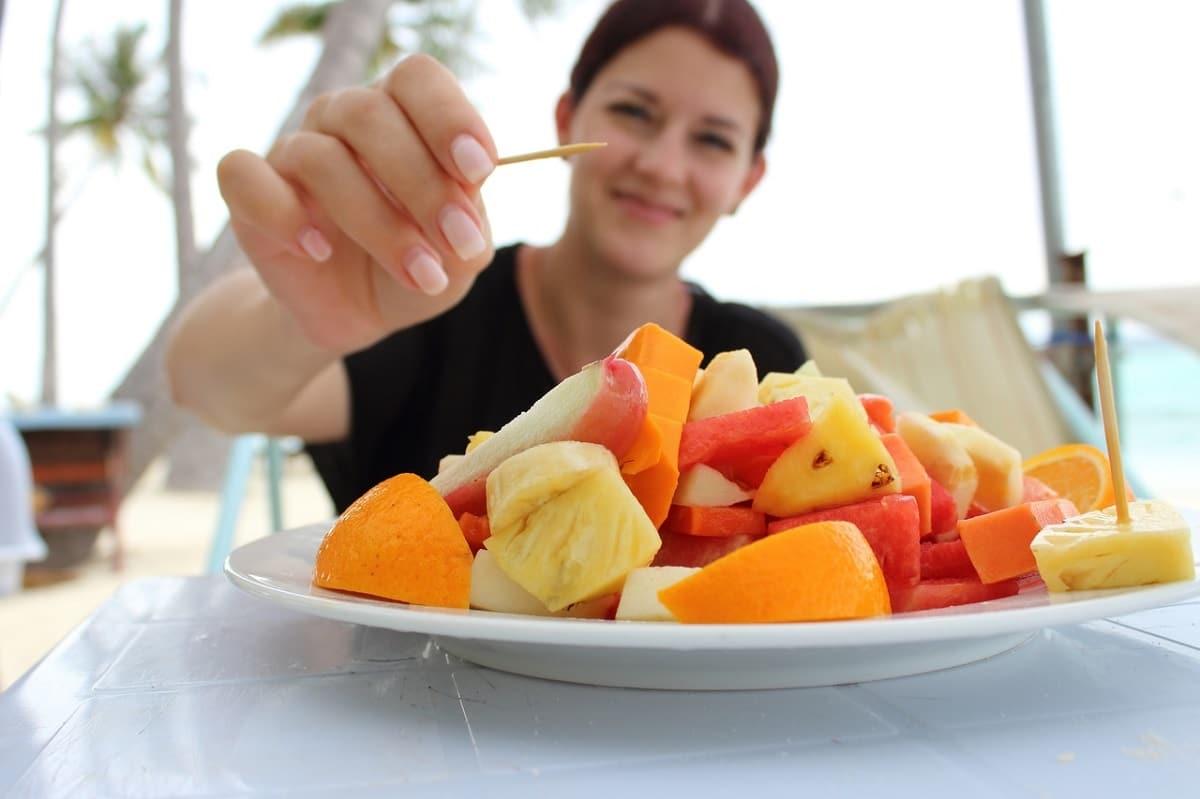 como tomar mas fruta