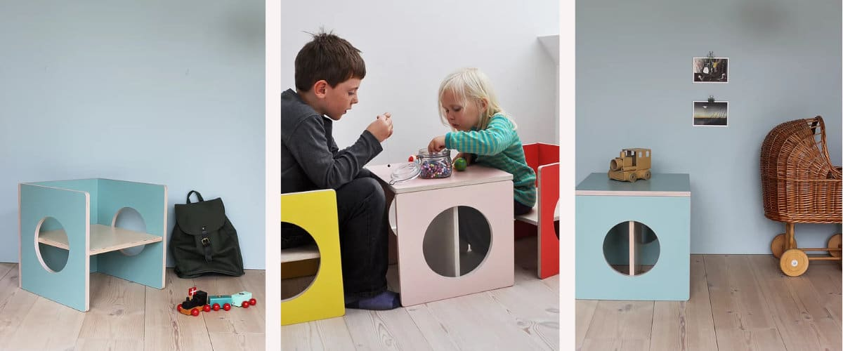 Silla/mesa Cube