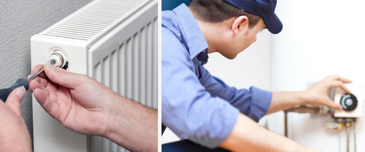 Radiadores y caldera