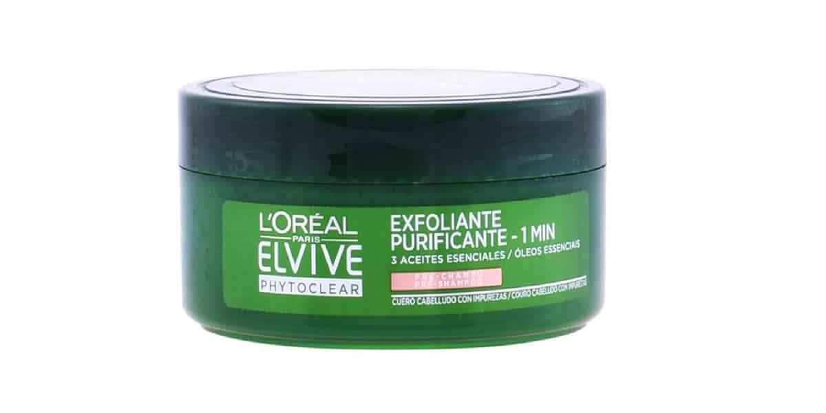 Exfoliante de cabello