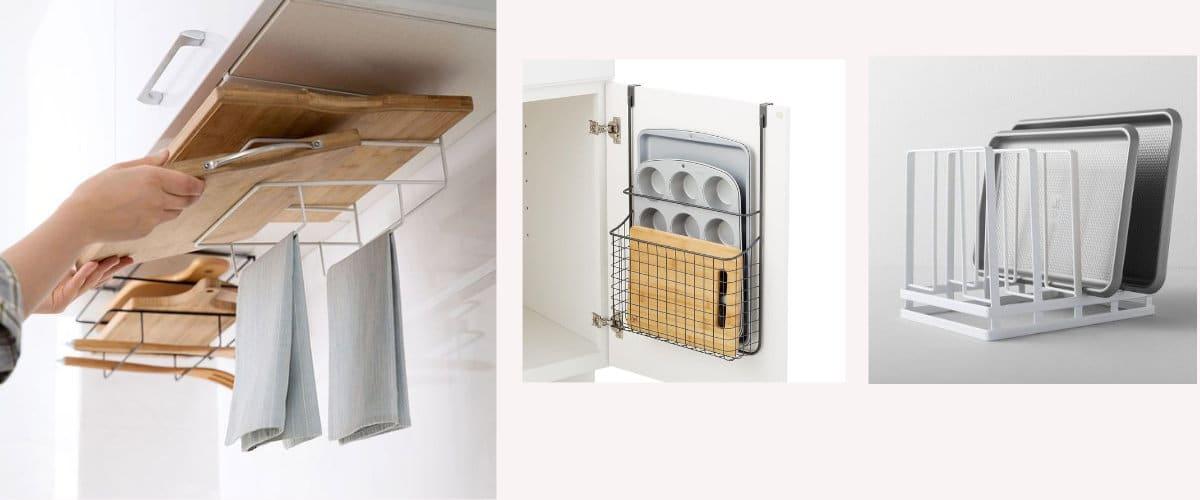 Accesorios para organizar la cocina