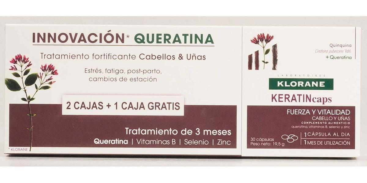 Cápsulas de keratina