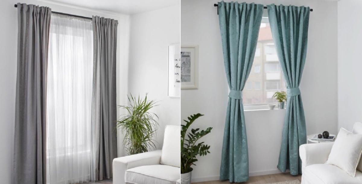 cortinas para hogar