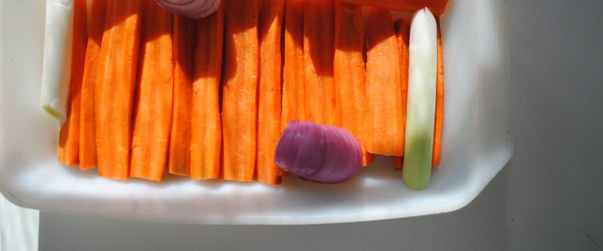 Crema de zanahoria asada