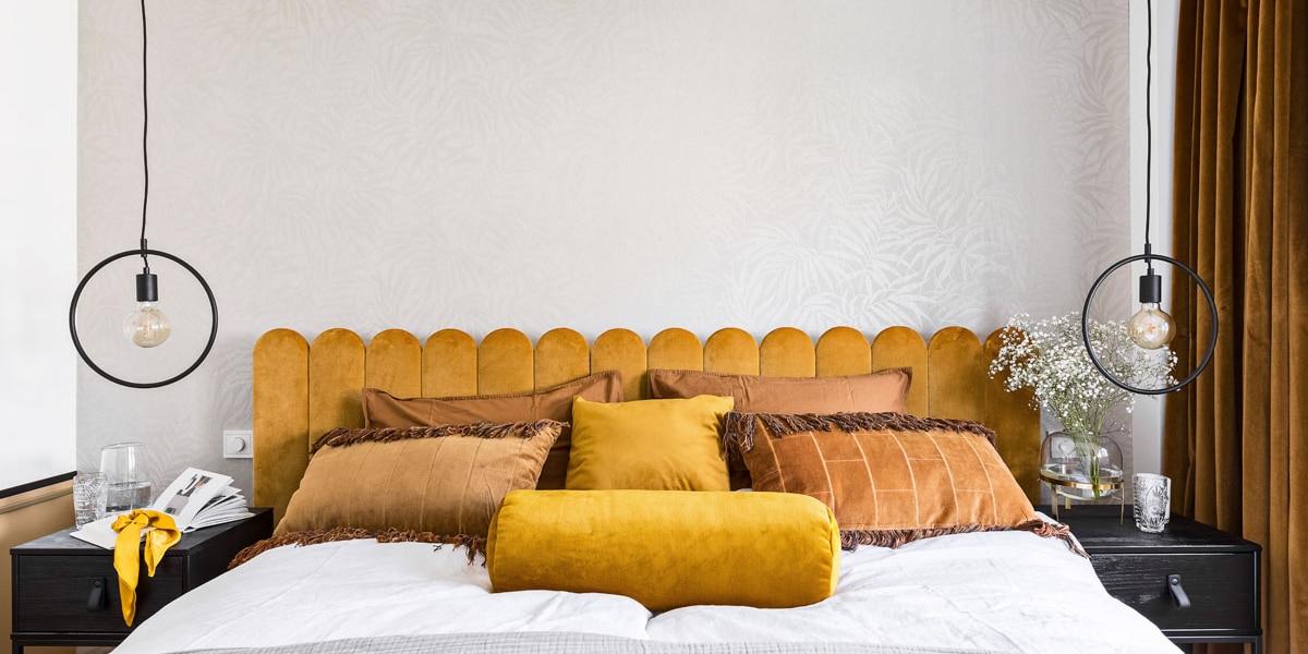Cabecero textil