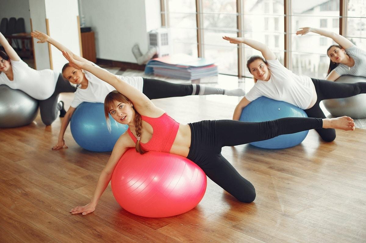 ejercicios con fitball