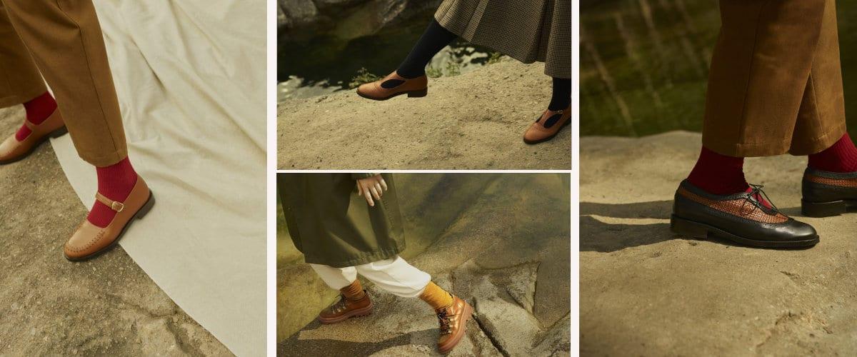 colección de calzado de Naguisa