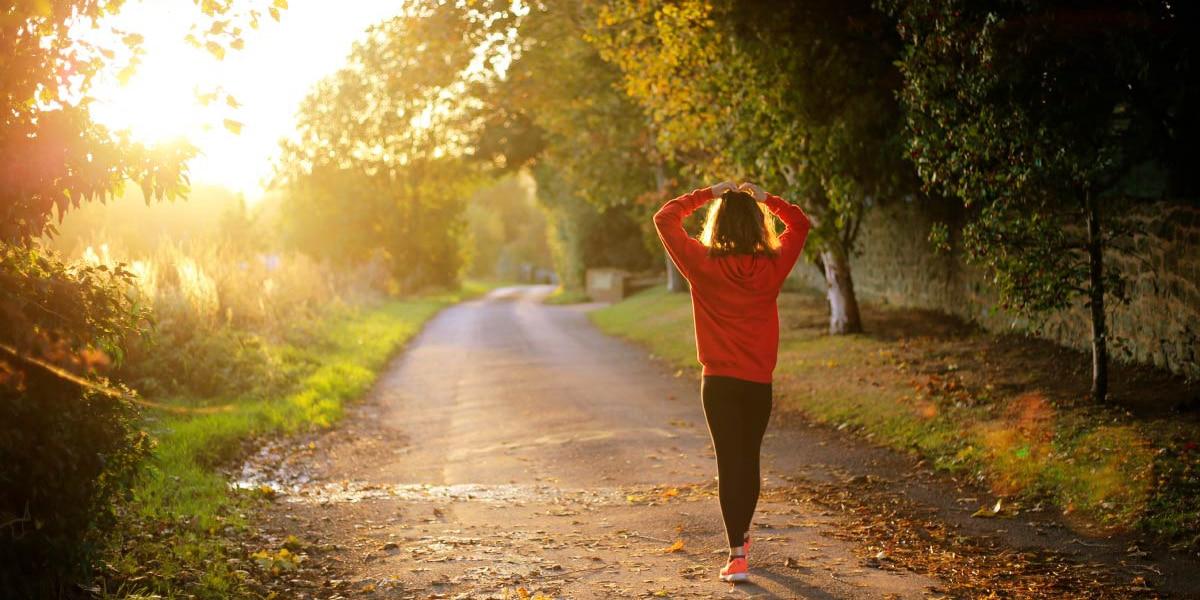 Caminar a diario