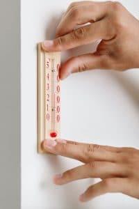 termometro de pared