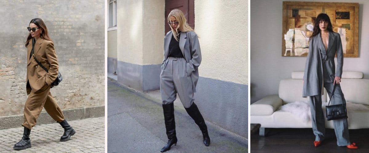 Estilismos con traje de invierno