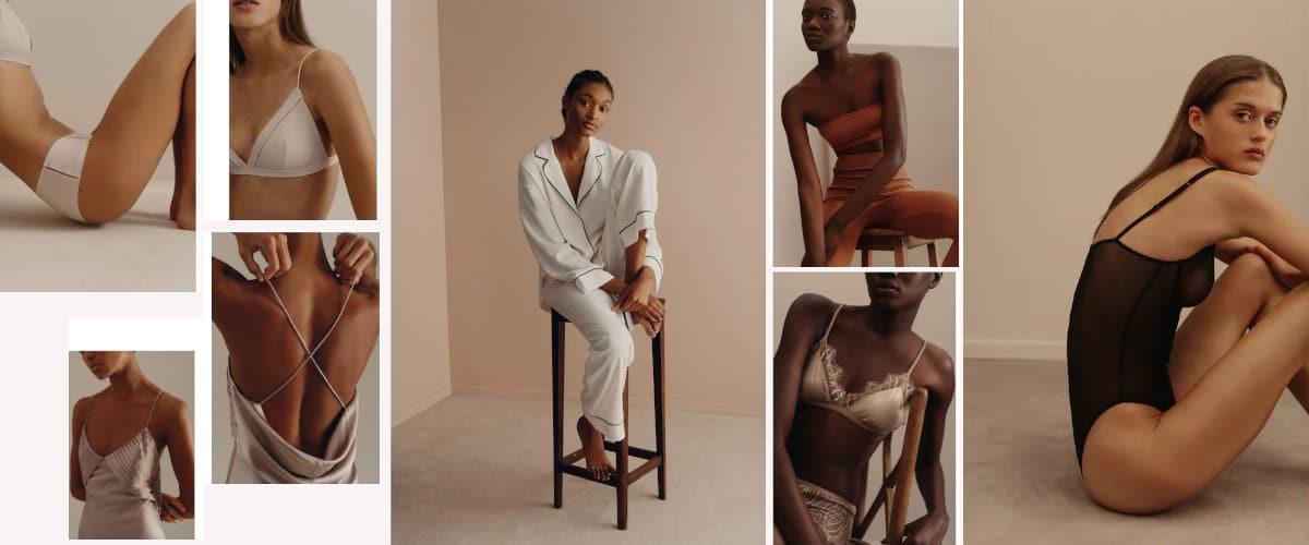 colección de lencería de Zara