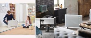 Calefactores eléctricos portátiles