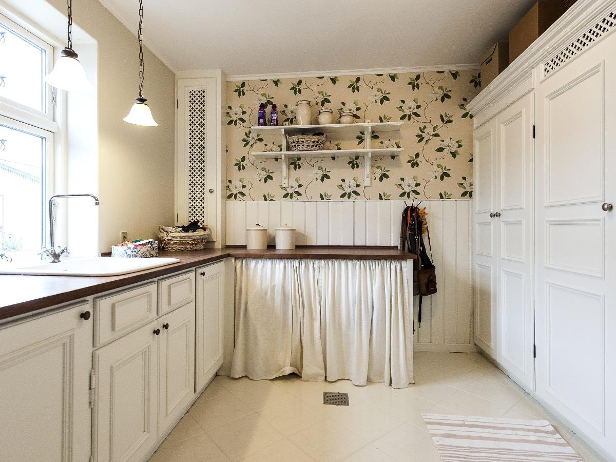 Cocinas vintage en blanco