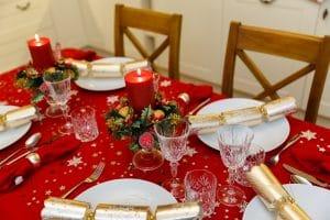 mesa navidad deco