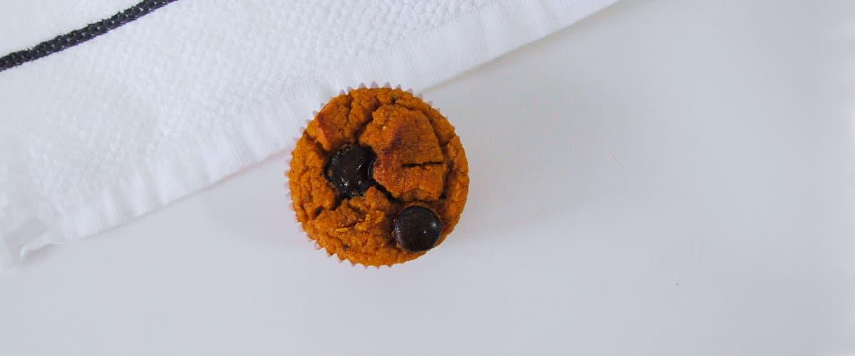 Muffins de calabaza y almendra