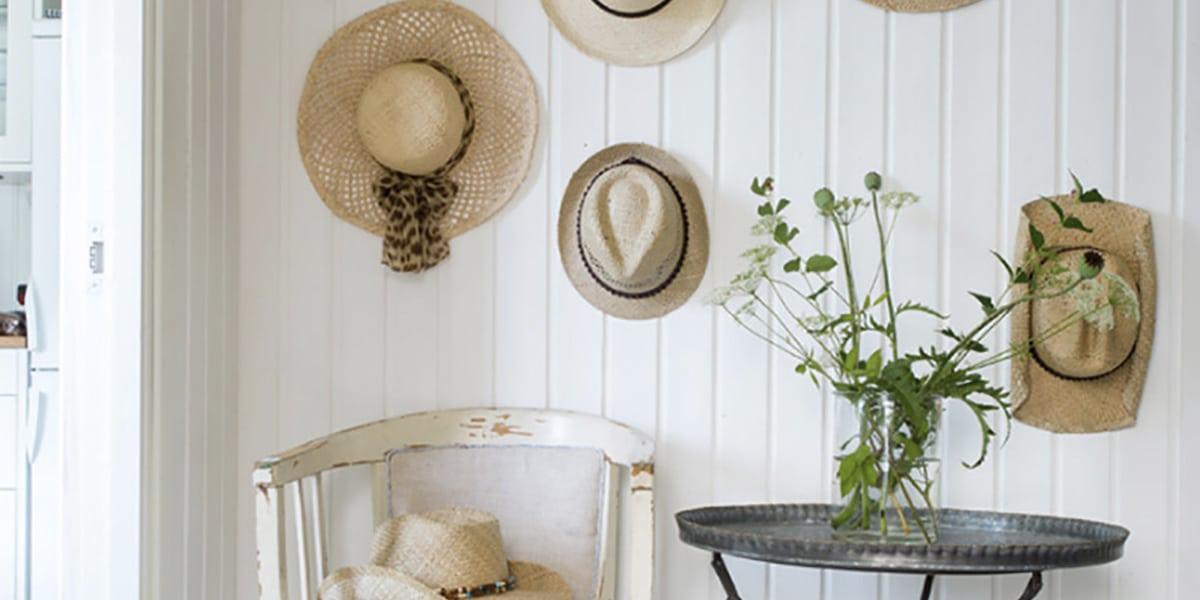 sombreros para la pared