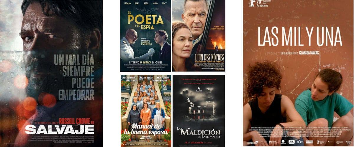 Películas que se estrenan en enero