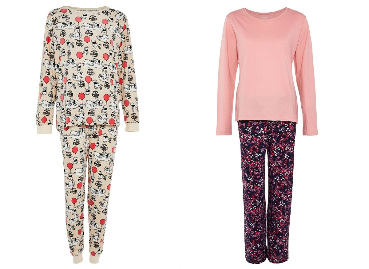 Pijama manga larga estampado