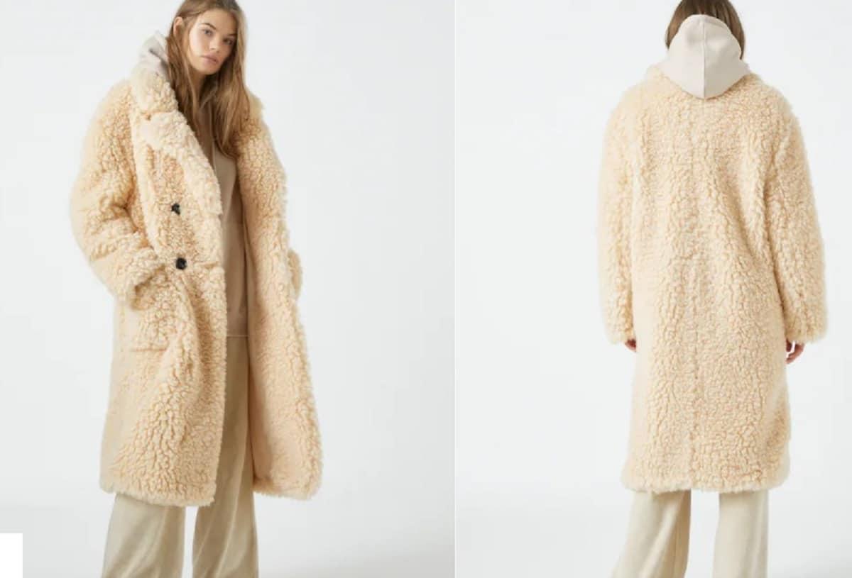 abrigo largo de pelo