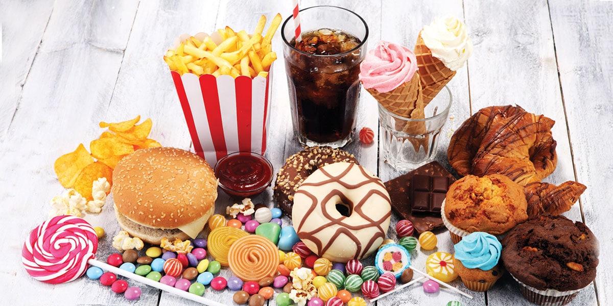 Alimentación con azúcares