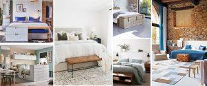 Muebles en pie de cama