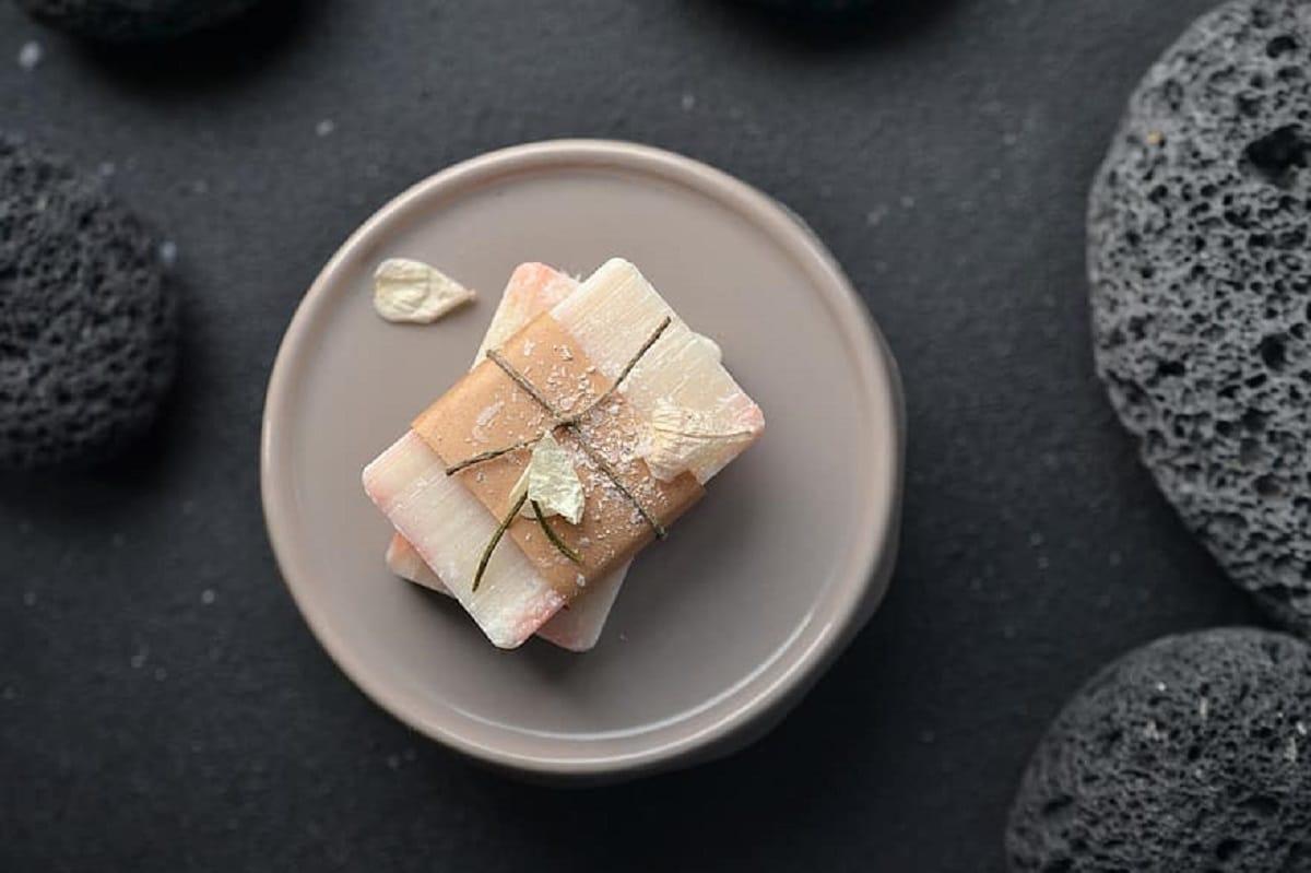 Pastilla de jabón champú