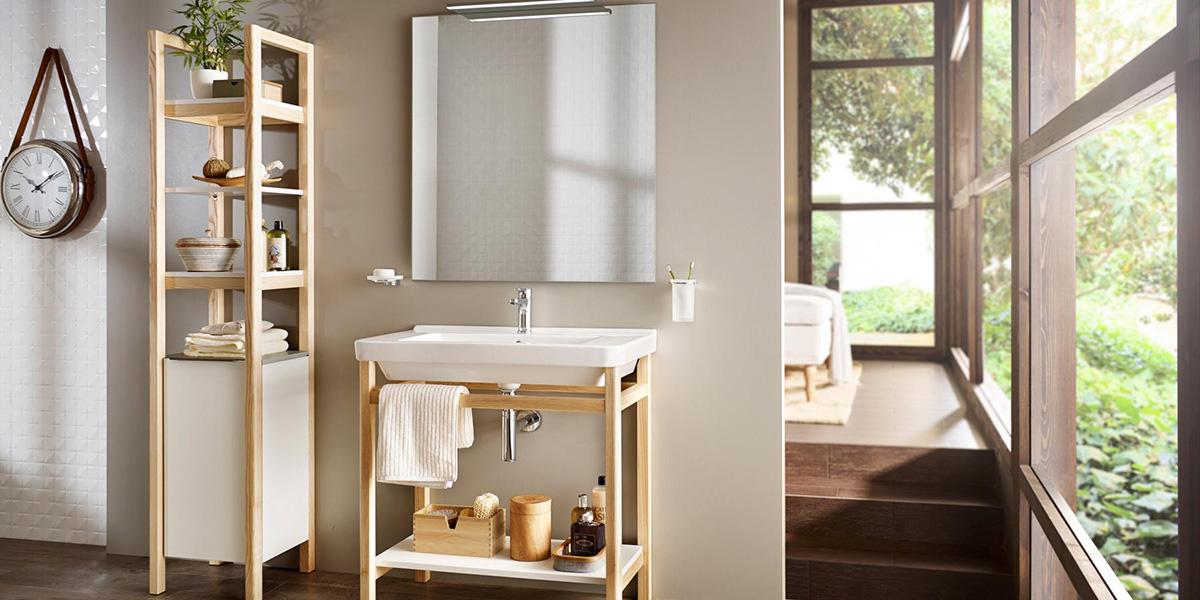 Muebles de lavabo nórdicos