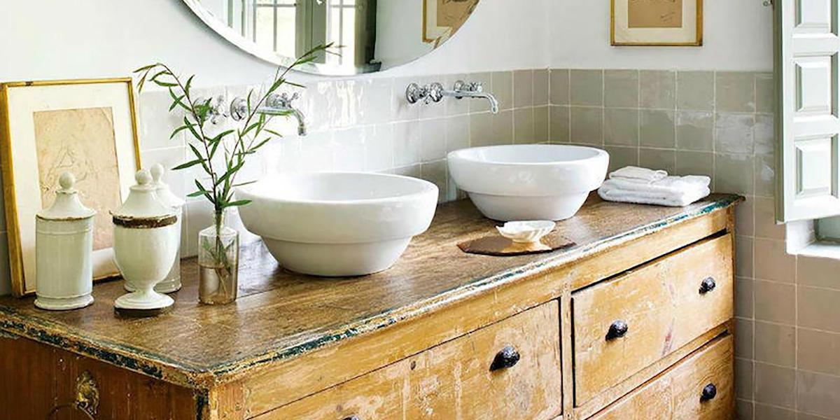 Muebles de lavabo vintage