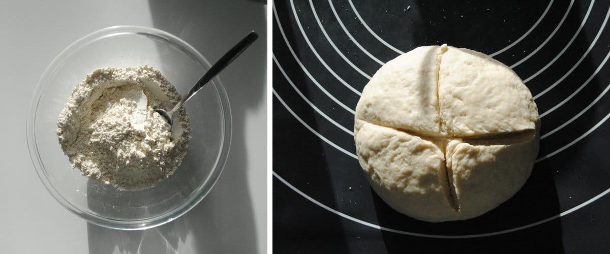 Pan rápido sin amasado