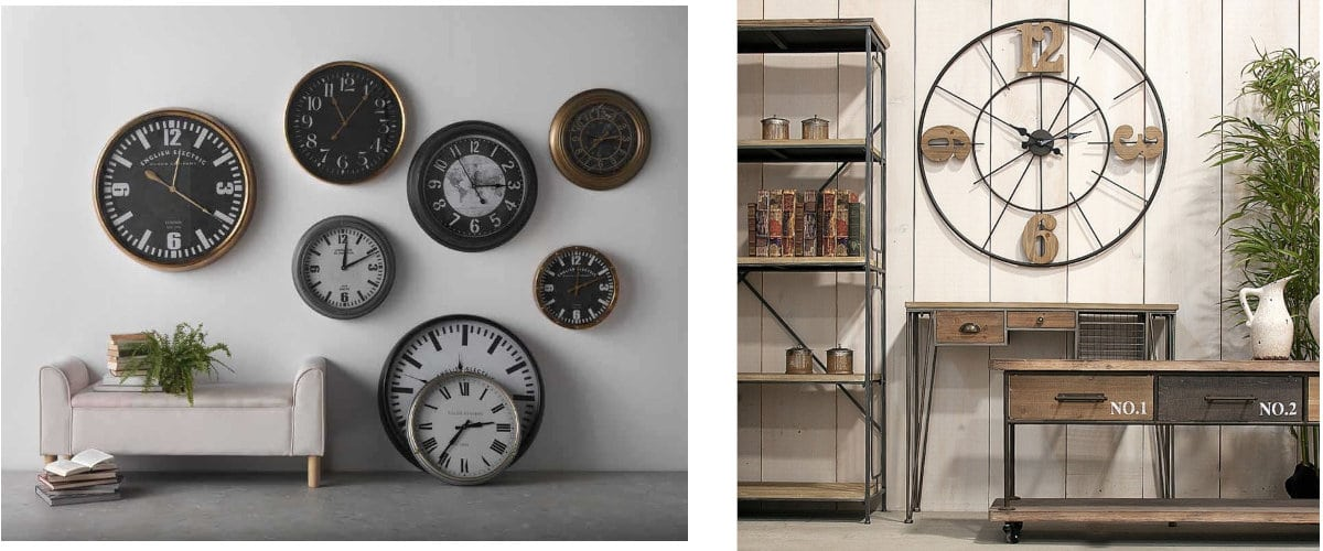 Relojes de pared industriales