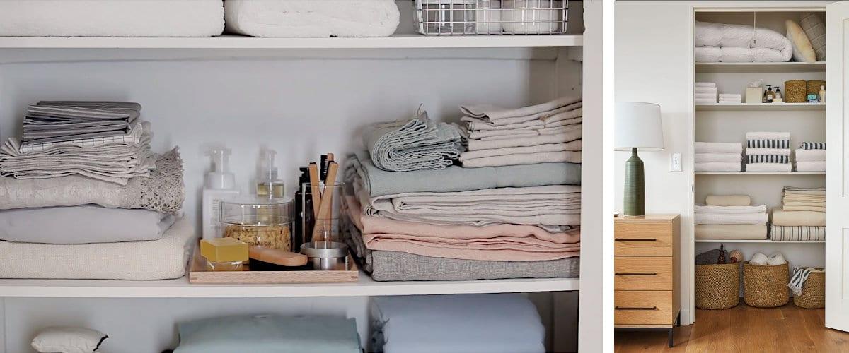 armario de la ropa blanca