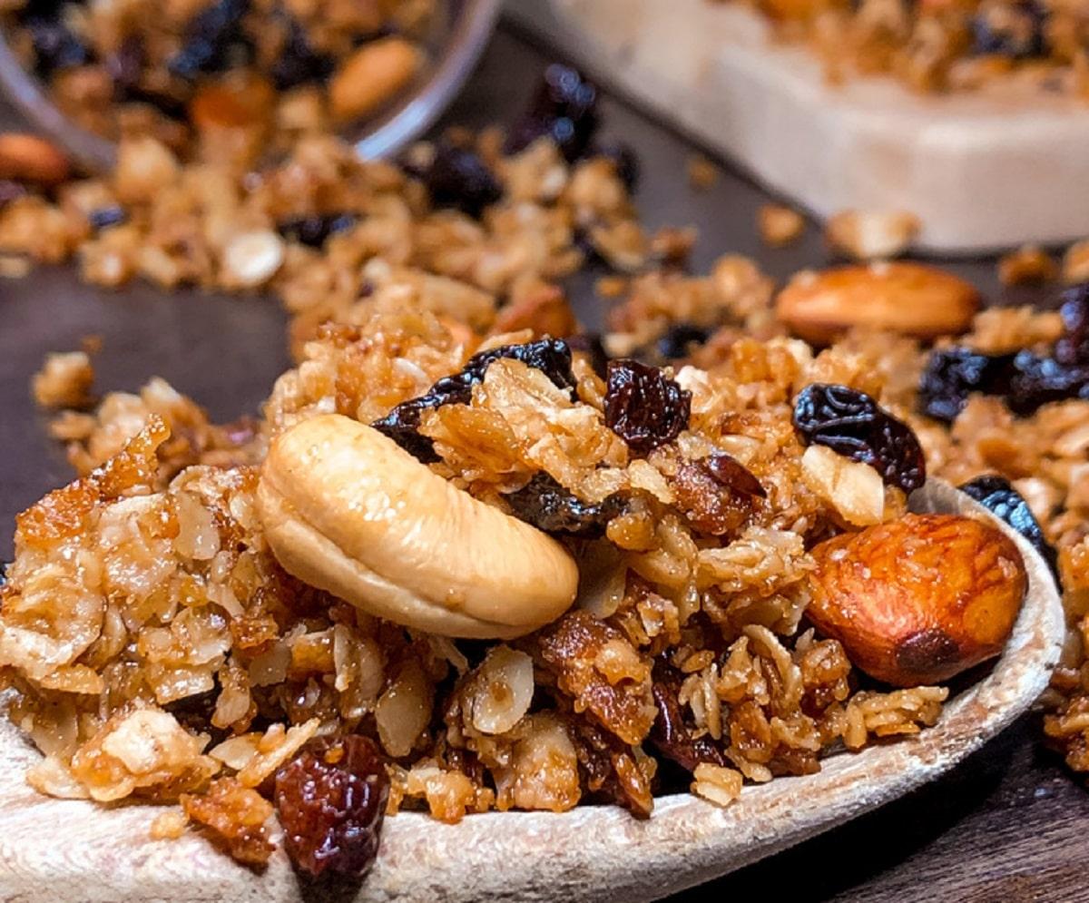 Los grandes beneficios de la granola