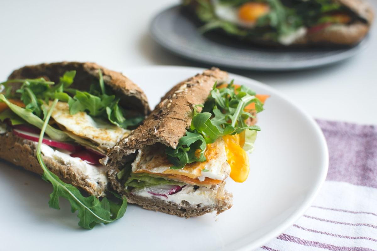 Dietas saludables con pan