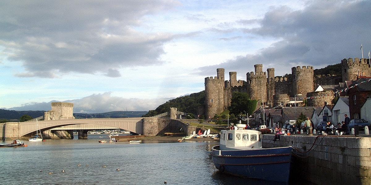 Qué ver en Gales, Conwy