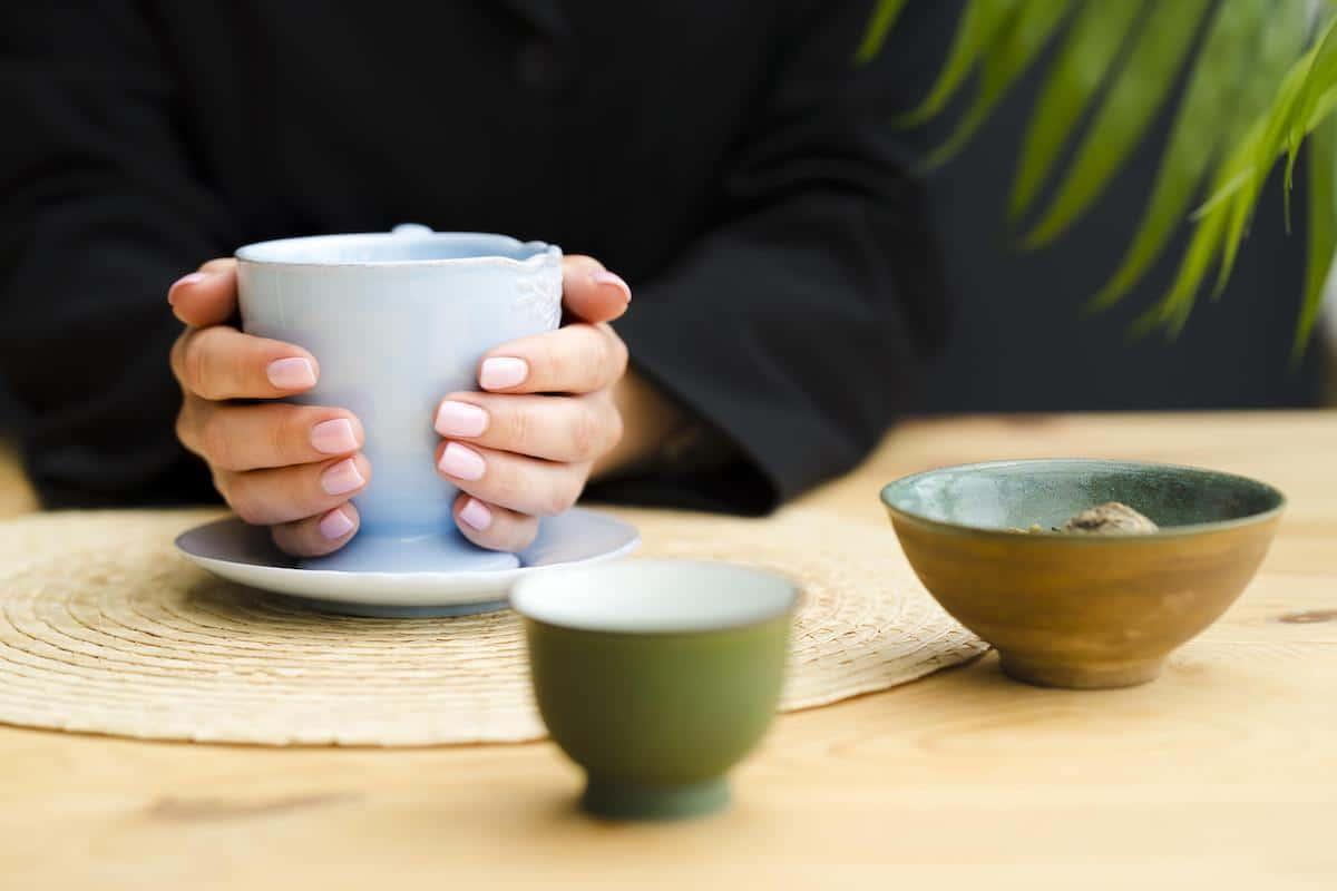 Tomarse una taza de té relaja mucho.