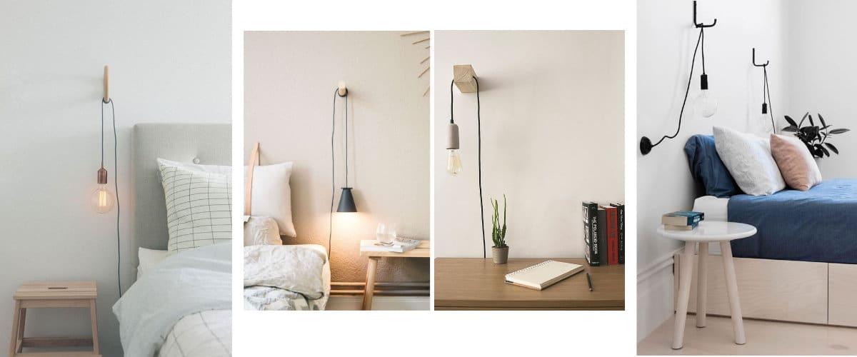Lámparas minimalistas que puedes regular en altura