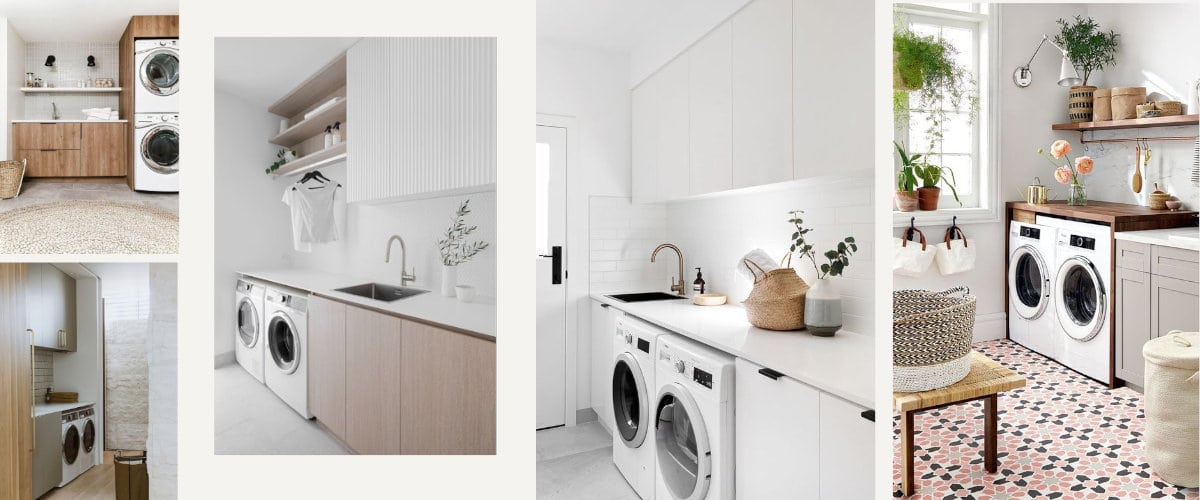 Puedes colocar tu lavadora y secadora en columna o en paralelo